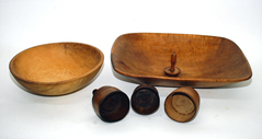 EARLY WOODEN WARE
