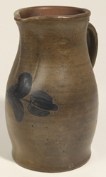 Lehew & Co., Strasburg, VA Decorated Stoneware Pitcher.