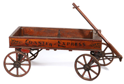 Rare Coaster Express Portsmouth, OH Wooden Wagon