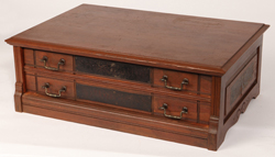 Williamantic 2 Drawer Cherry Spool Cabinet