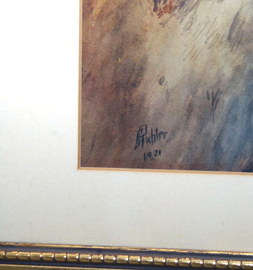 Signature of Watercolor