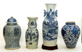 Chinese Oriental Vases