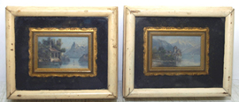 Signed E. Jackson Small Oil Paintings