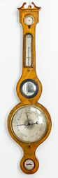 George III Inlaid Barometer