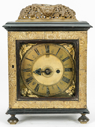 Early English Bracket Clock Case