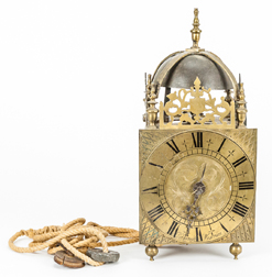 Richard Cornish, Westram Brass Lantern Clock