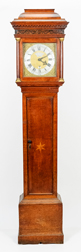 Thomas Thacher, Tenterden, England Tall Case Clock