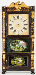 Fine American Triple Decker Shelf Clock