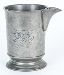 English Pewter Pint Pouring Measure