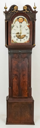 Gothic Chippendale Musical Carillon Bells Tall Case Clock