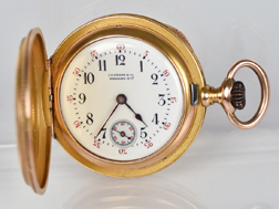 I.G. Dillon Gold Pocket Watch