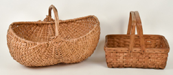 Two Early Gathering Baskets