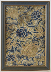 Early Chinese Silk Embroidered Panel