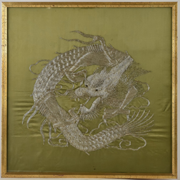 Chinese Embroidered Dragon