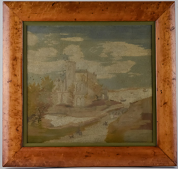 Early Needlepoint of English Castle