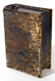 Rare Bennington Life of Kossuth Book Flask