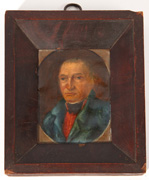 Folk Art Portrait of Anthony Rapp of Sabina, Ohio