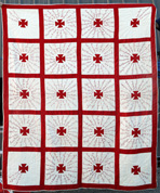 Bowersville, Ohio Friendship Quilt