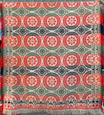 3 Color Jacquard Coverlet
