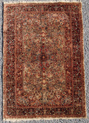 Fine Semi-Antique Oriental Silk Estate Rug