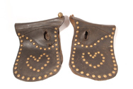 Pair of Team Horse Show Cover Tack