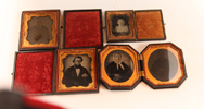 Group of Ambrotypes from Adams Co., Ohio