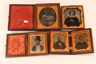 Group of Cased Photographs
