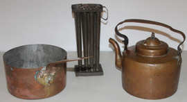 EARLY COPPER ITEMS