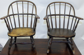 CHILD'S WINDSOR CHAIRS