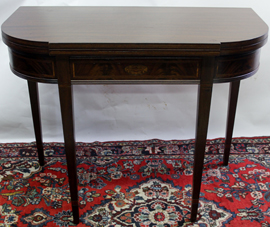 INLAID CARD TABLE