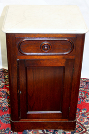 WALNUT HALF COMMODE