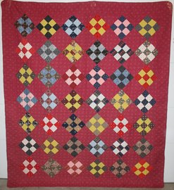 EARLY UNUSED QUILT