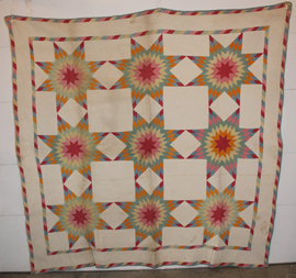 EARLY STAR QUILT