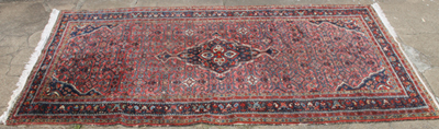 "123"" X 62"" SEMI-ANTIQUE ORIENTAL RUG"