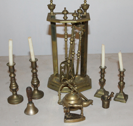 Miniature brass items