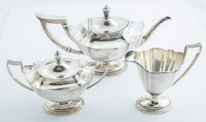 Gorham Plymouth Sterling Tea Set