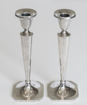 Pair Sterling Candlesticks