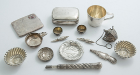 Large Lot of Sterling Pieces