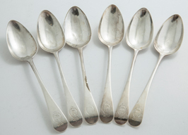 Order of The Garter British Sterling Table Spoons