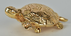 Gold Turtle Broach