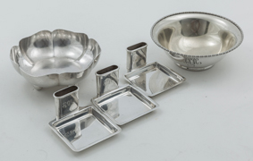 Five Pieces of Sterling Holloware