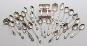 24 Pieces Sterling Flatware