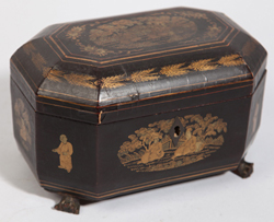 Early Laquered Chinese Box