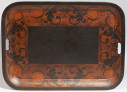 Early Tole Decorated Tray