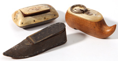 Three 19th Century Snuff boxes
