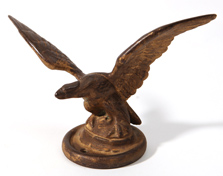 Small Cast Iron Eagle