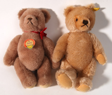 Two Steiff Teddy Bears
