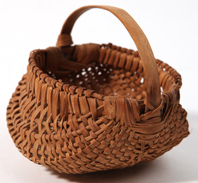 Fine Double Buttocks Miniature Basket