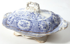 Staffordshire Covered Vegetable Dish