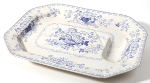 Lg. Staffordshire Meat Platter